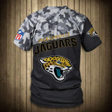 Jacksonville Jaguars Military T Shirt 3D Short Sleeve-T shirt-4 Fan Shop