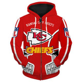 Kansas City Chiefs Hoodies Cheap 3D Sweatshirt Pullover-Sweatshirt-4 Fan Shop