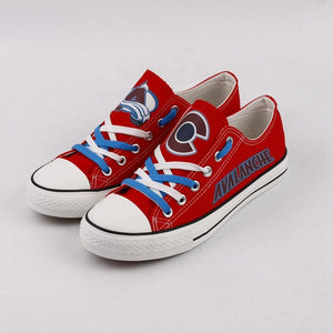 NHL Shoes Sneaker Custom Colorado Avalanche Shoes For Sale Super Comfort-Shoes-4 Fan Shop