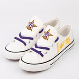 Cheap Los Angeles Lakers Shoes Custom Limited Letter Glow In The Dark Shoes Laces-Shoes-4 Fan Shop