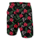 Men's Atlanta Falcons Shorts Floral-shorts-4 Fan Shop