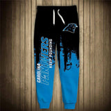 Men's Carolina Panthers Sweatpants Printed 3D-sweatpants-4 Fan Shop