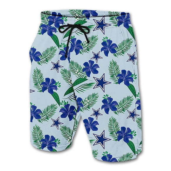 Men's Dallas Cowboys Shorts Floral-shorts-4 Fan Shop
