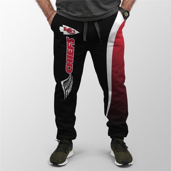Men's Kansas City Chiefs Sweatpants Printed 3D-sweatpants-4 Fan Shop