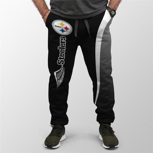 Men's Pittsburgh Steelers Sweatpants Printed 3D-sweatpants-4 Fan Shop