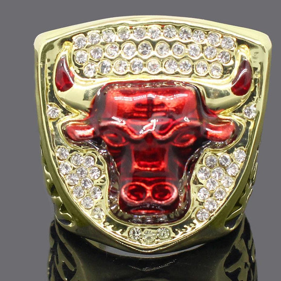 NBA Basketball 1993 Chicago Bulls Championship Ring for Fans Collection Souvenirs-Ring-4 Fan Shop
