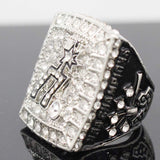 NBA Basketball 2014 San Antonio Spurs Championship Ring Color Silver-Ring-4 Fan Shop