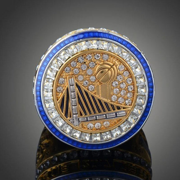 NBA Basketball 2017 Golden State Warrior Championship Rings Collection For Fans Curry Durant- 2017 Golden State Warriors Ring Replica-Ring-4 Fan Shop