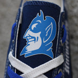 Novelty Design Duke Blue Devils Shoes Low Top Canvas Shoes-Shoes-4 Fan Shop