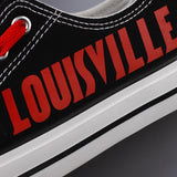 Novelty Design Louisville Cardinals Shoes Low Top Canvas Shoes-Shoes-4 Fan Shop