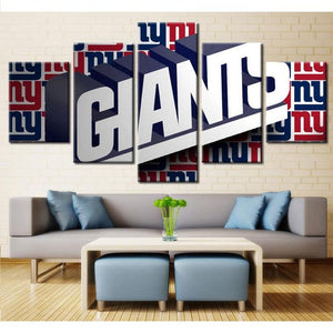 New York Giants Canvas Wall Art Cheap For Living Room Wall Decor-canvas paintings-4 Fan Shop