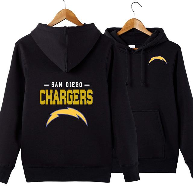 meet 7aaae 93c67 NFL American football Men's hoodie sweatshirt outdoor sports pullover San  Diego Chargers