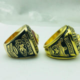 NFL Football 1966 1969 Kansas City Chiefs Championship Rings Color Gold-Ring-4 Fan Shop