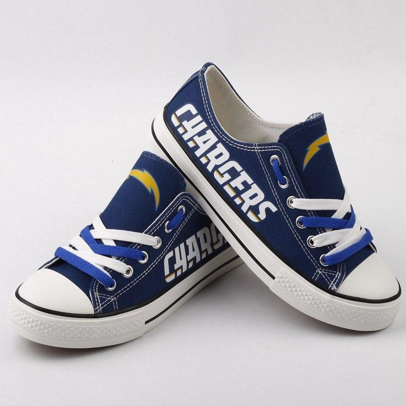 NFL Shoes Custom Los Angeles Chargers