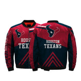 NFL Jackets Men 3D Fullprint Houston Texans Bomber Jacket For Sale-jacket-4 Fan Shop