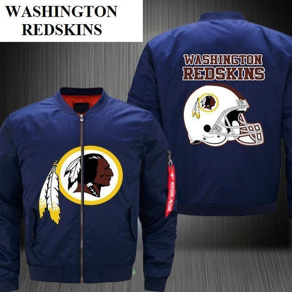 NFL Jackets Men Washington Redskins Bomber Jacket For Sale-jacket-4 Fan Shop
