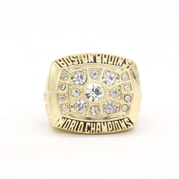 NHL Hockey 1972 Boston Bruins Championship Ring Color Gold-Ring-4 Fan Shop