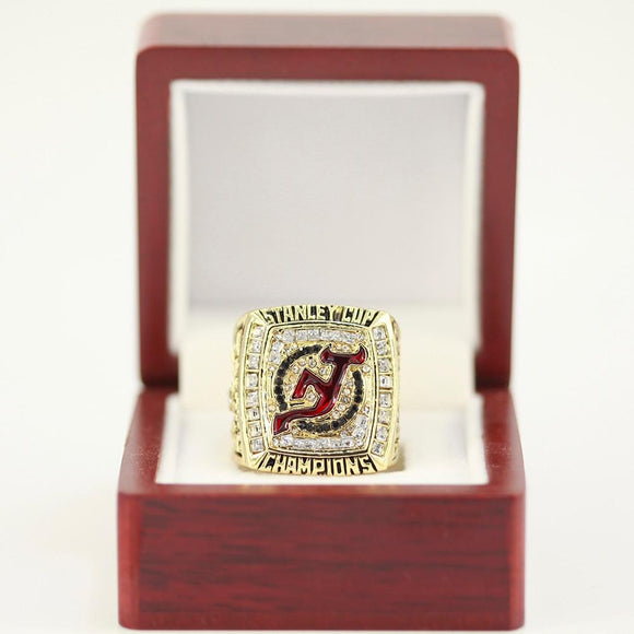 NHL Hockey 2003 NEW JERSEY DEVILS Championship Ring Size 11-Ring-4 Fan Shop