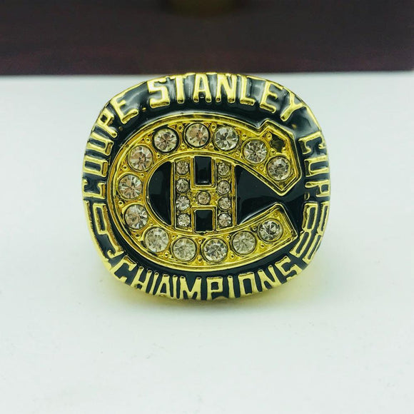 NHL 1986 Montreal Canadiens Stanley Cup Ring-Ring-4 Fan Shop