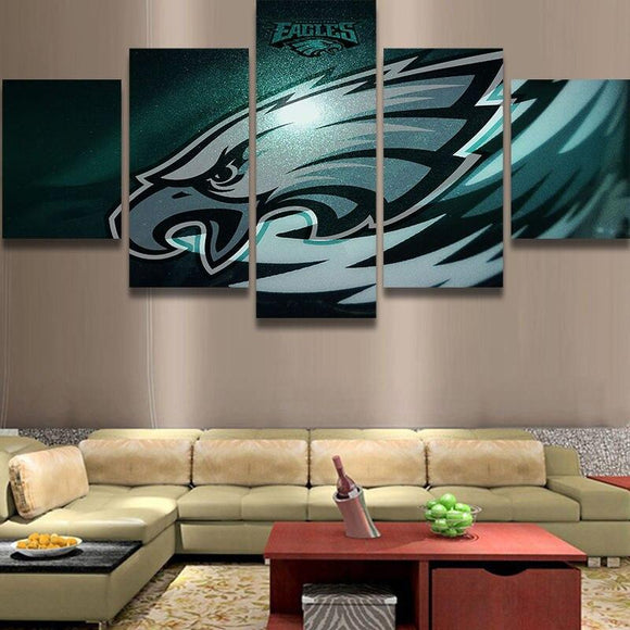 Philadelphia Eagles Canvas Wall Art Cheap For Living Room Wall Decor-canvas paintings-4 Fan Shop