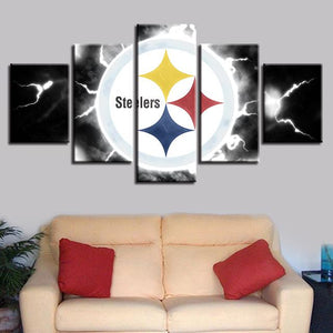 Pittsburgh Steelers Canvas Wall Art Cheap For Living Room Wall Decor-canvas paintings-4 Fan Shop