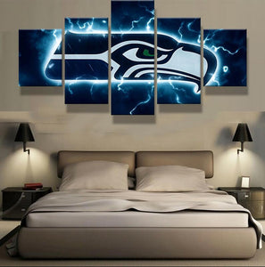 Seattle Seahawks Wall Art Cheap For Living Room Wall Decor-canvas paintings-4 Fan Shop