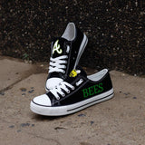 So Cool Design Canvas Shoes Printed Letter & Logo Academy High School Bumblebees-Shoes-4 Fan Shop