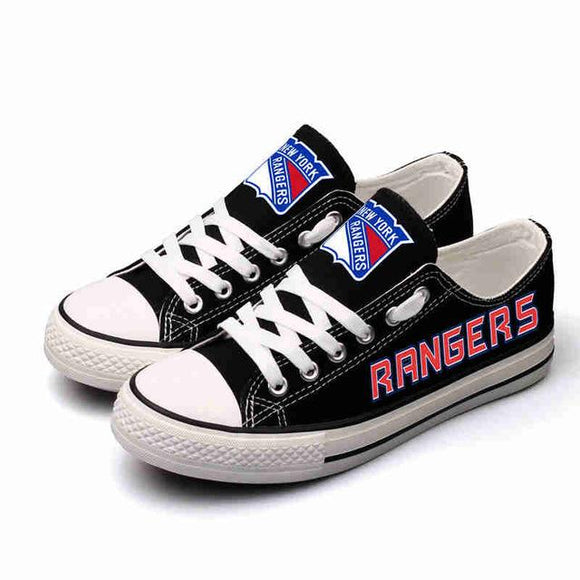 Cheap New York Rangers Shoes Letter Glow In The Dark Shoes Laces-Shoes-4 Fan Shop
