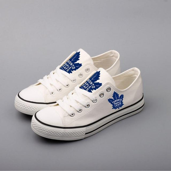 Unique Design NHL Shoes Custom Toronto Maple Leafs Shoes For Sale Super Comfort-Shoes-4 Fan Shop