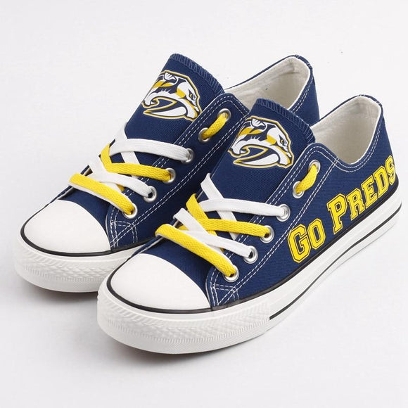 NHL Shoes Custom Nashville Predators Shoes For Sale Super Comfort-Shoes-4 Fan Shop