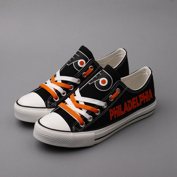 Cheap Philadelphia Flyers Shoes For Sale Letter Glow In The Dark Shoes Laces-Shoes-4 Fan Shop
