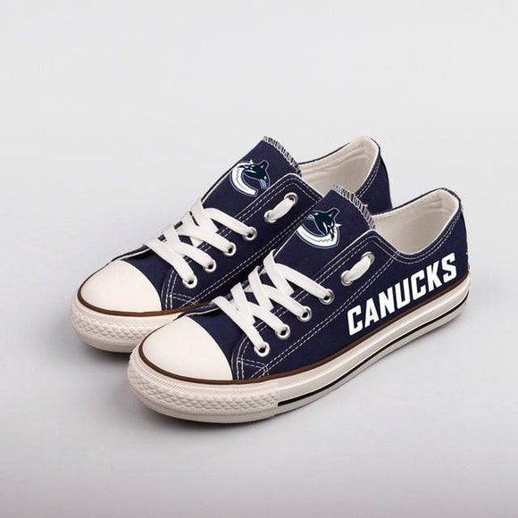 Cheap NHL Shoes Custom Vancouver Canucks Shoes For Fans Hockey-Shoes-4 Fan Shop
