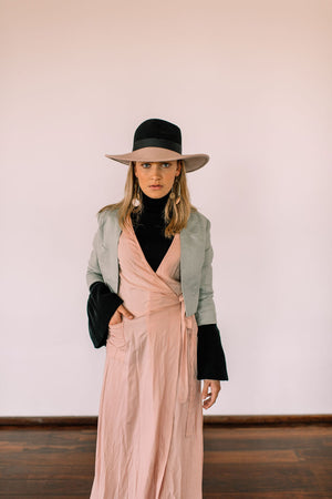Poppy Wrap dress