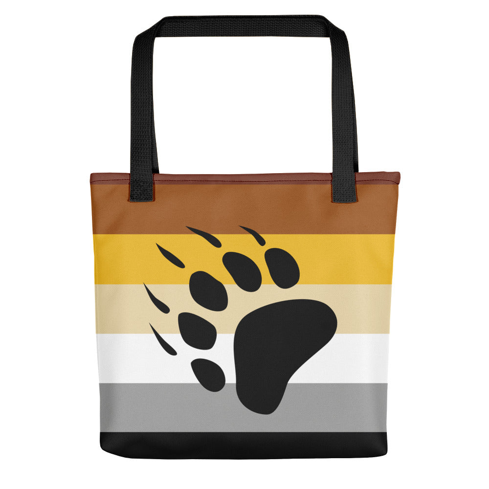 Bear Flag Tote Bag