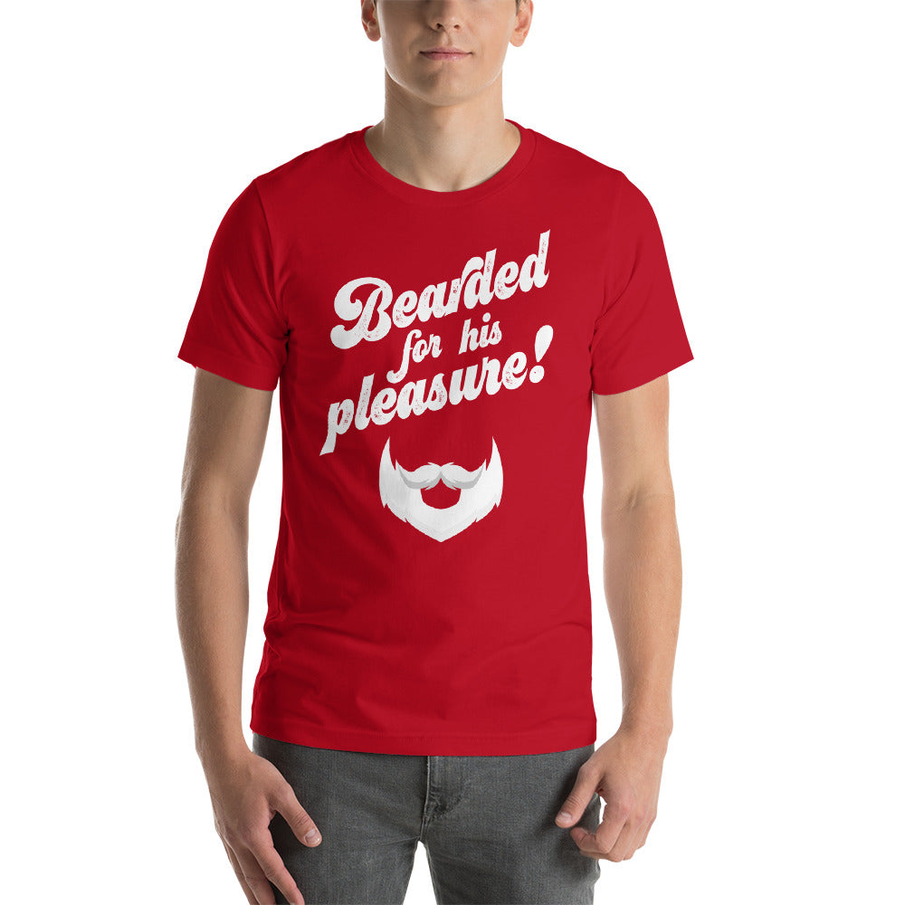 """Bearded For His Pleasure"" Short-Sleeve T-Shirt"