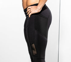"Legging ""The Boss Babe"" en Noir"