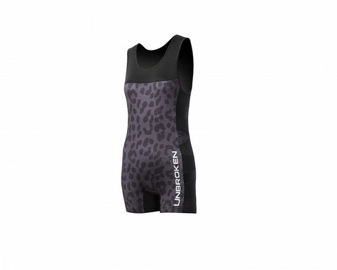 "Singlet ""Leopard and Lace"""