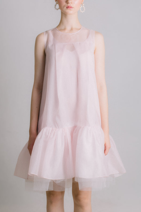 The Prelude - Pink Organza Dress