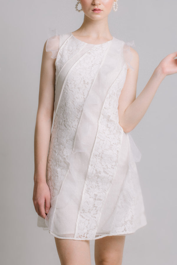 The Prelude - White Lace Dress