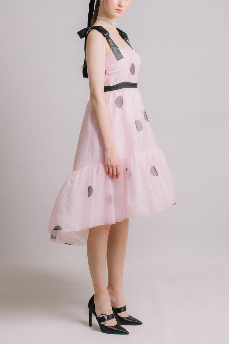 The Prelude - Polka Dot Organza Dress