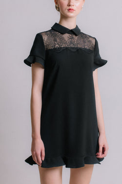 The Prelude - Black Lace Dress