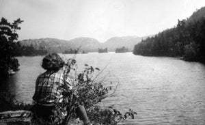 A. Y. Jackson at Grace Lake in the 1930s