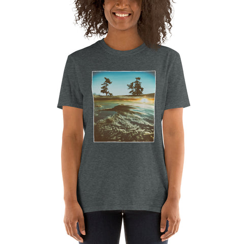 'Above The Clouds' Short-Sleeve Unisex T-Shirt by Jon Butler
