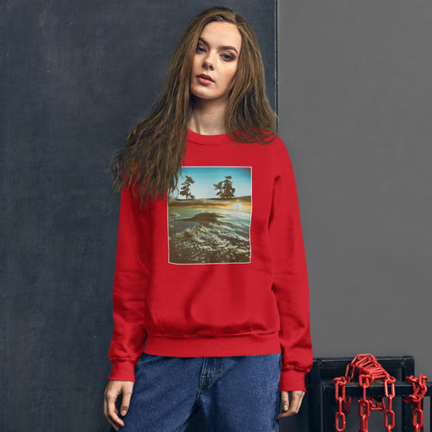 'Above The Clouds' Unisex Sweatshirt by Jon Butler