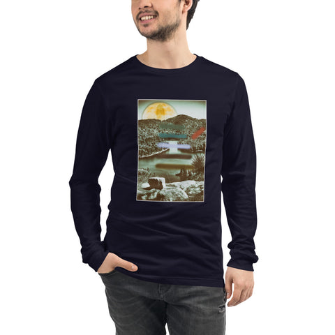 'Carmichael Wrote' Unisex Long Sleeve Tee by Jon Butler