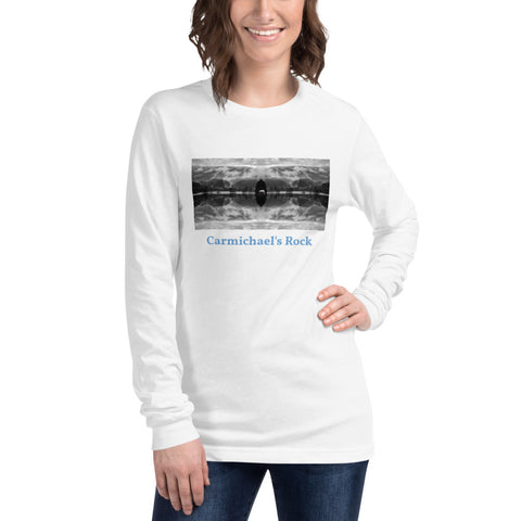 'Carmichael's Rock' Unisex Long Sleeve Titled Tee by Jon Butler