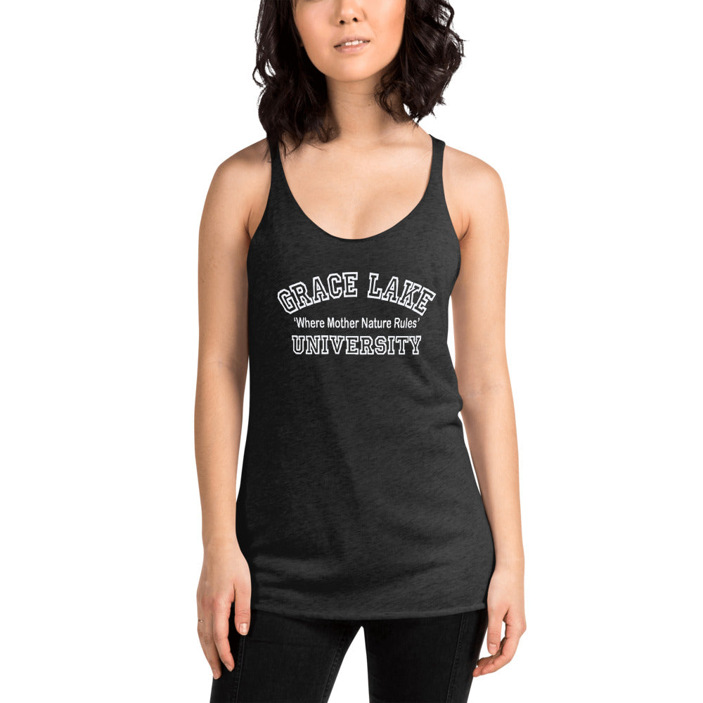 Grace Lake University Women's Racerback Tank
