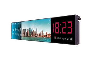 MESS 86 Stretched Wall Hanging Digital Signage Display