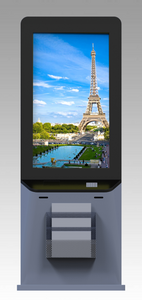 "MECE 70"" Indoor Interactive Hybrid Digital Signage Totem"