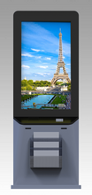 "MECE 49"" Indoor Interactive Hybrid Digital Signage Totem"